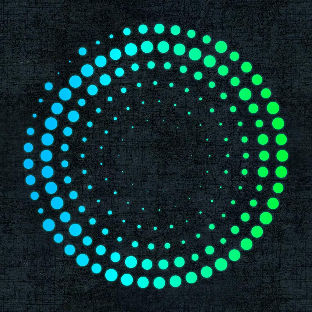 Как сделать полупрозрачный круг на приложение